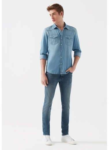 Mavi Jean Pantolon | Leo - Super Skinny Renkli